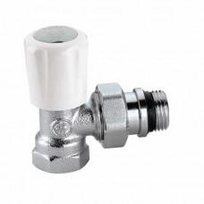 Угловой верхний радиаторный вентиль для стальной трубы 3/4″
