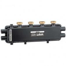 SEPCOLL Коллектор со встроенным гидравлическим разделителем  1″ВР от котла + 2 х 1 1/2″ВР + 1″ВР