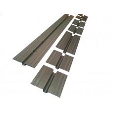 Теплораспределительные пластины для теплого пола, оцинкованные 16мм 125 х 1000 мм
