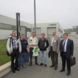 Визит дилеров ФорсТерм, на завод Caleffi, Октябрь 2012 года