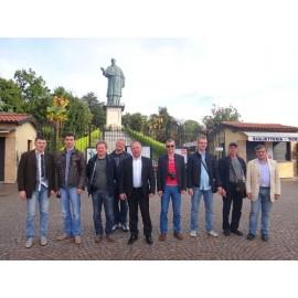 Дилеры ФорсТерм на заводе Caleffi. Июнь 2013 года
